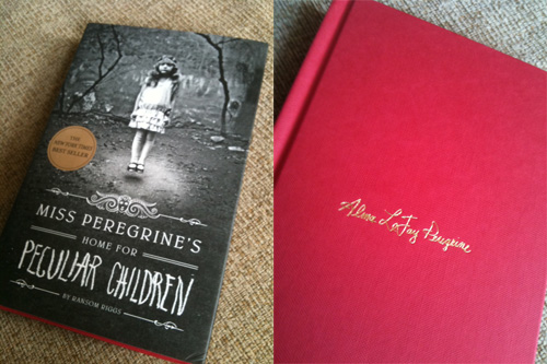 Miss Peregrine's Home for Peculiar Children, with and without jacket