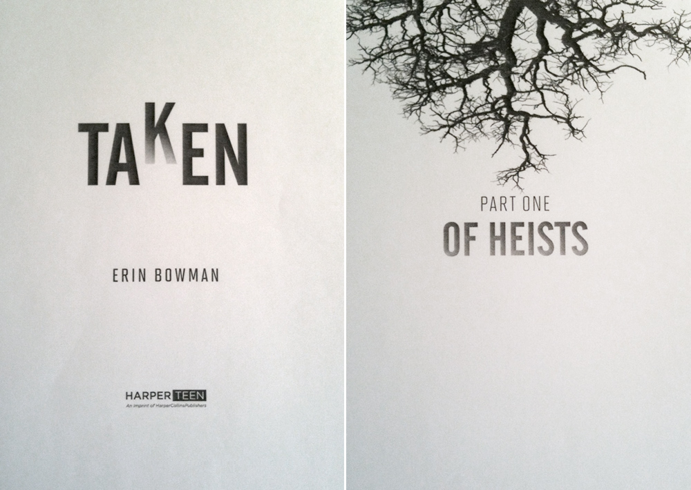 cool title pages