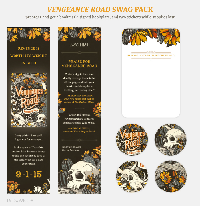 VENGEANCE ROAD preorder swag pack